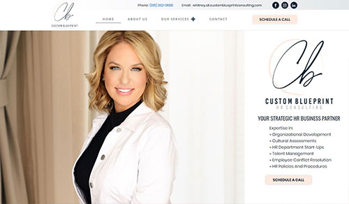 HR Consulting Website