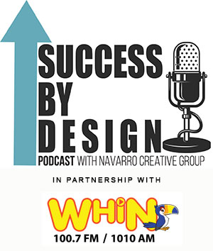 navarro creative group podcast small business website design