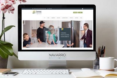 Sumner Realtors Website Design